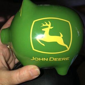 John dear piggy bank
